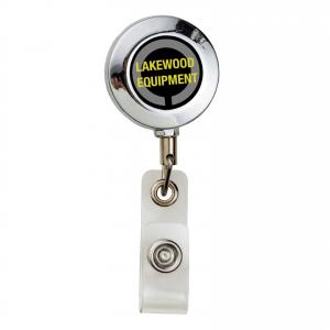 Swissman Metal Round Badge Reel
