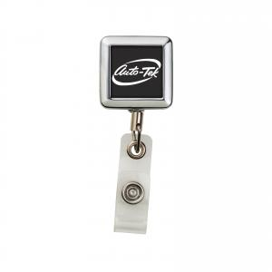 Swissman Metal Square Badge Reel