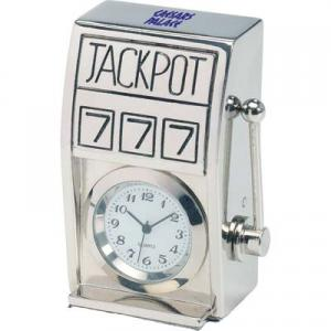 Die Cast Slot Machine Clock