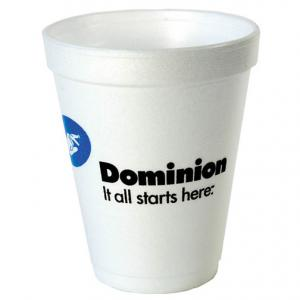 10 oz. White Foam Cup