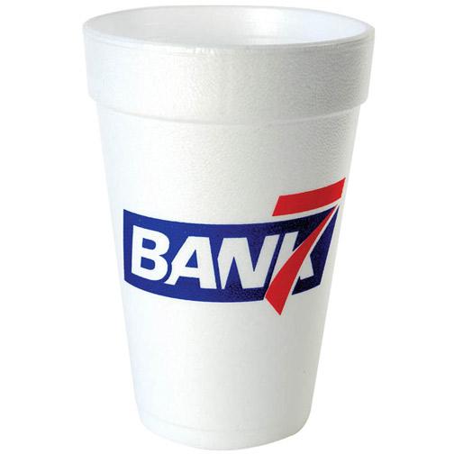 16 oz. White Foam Cup