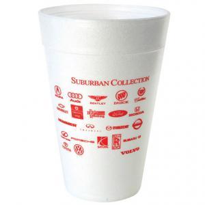 32 oz. White Foam Cup