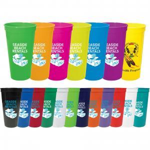 24-oz. Colorful Stadium Cup