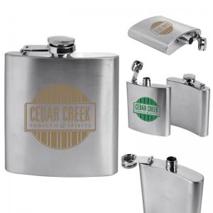 6-oz. Stainless Steel Flask