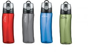 24 Oz. Thermos Hydration Bottle with Meter