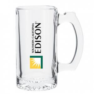 12.5 Oz Glass Beer Mug