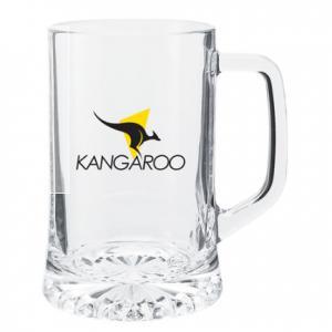 21 Oz. Thick Glass Bottomed Beer Mug