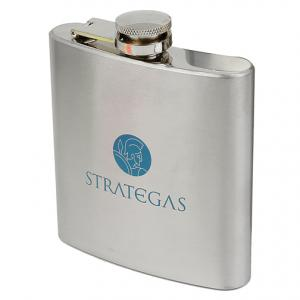 6oz Miner Stainless Steel Flask