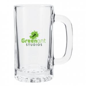 16 Oz. Glass Beer Tankard