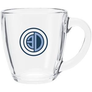 16oz Clear Tapered Mug
