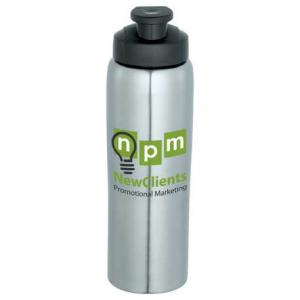 26 oz. Cruising Stainless Bottle with Flip Top Spout