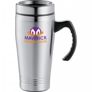 16-Oz McKinley Stainless Steel Travel Mug