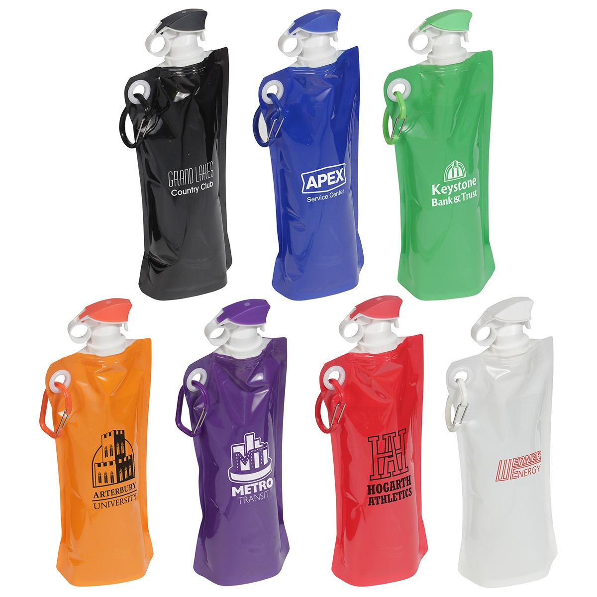 27oz Convenient Folding Water Bottle