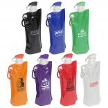 27oz Convenient Folding Water Bottle