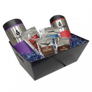 Drinkware Gift Tray with Two 16 oz Grip Tumblers