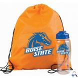 Drawstring Backpack and Bottle Combo Set