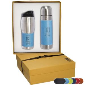 Tuscany Stainless Steel Thermos and Travel Tumbler Set