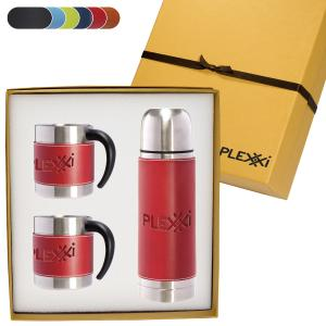 Tuscany Three Piece Mug and Thermos Gift Set