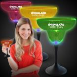Neon LED Party Margarita Glasses