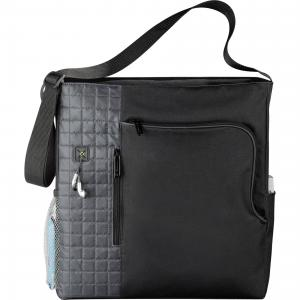 MultiPocket Business Tote with Earbud Port Access