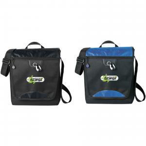 Tablet Messenger Tote with Earbud Port