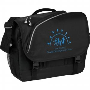 Zing Zippered Flap Messenger Bag