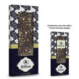 3.5 oz 23K Gold Flakes Belgian Chocolate Bar