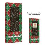 3.5 oz Holiday Nonpareil Sprinkle Belgian Chocolate Bar