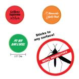 Insect Repellent Sticky Button