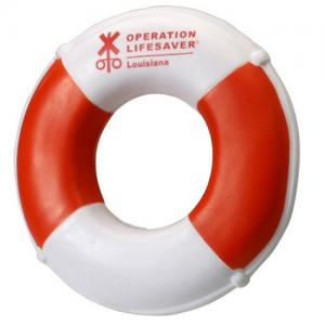 Life Preserver Shaped Stress Reliever