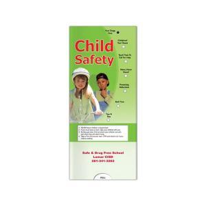 Child Safety Pocket Slide Chart