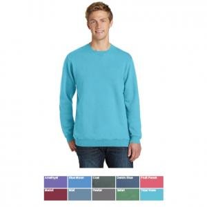 Port & Company Essential Pigment-Dyed Crewneck Sweatshirt