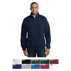 Jerzees 1/4-Zip Cadet Collar Sweatshirt