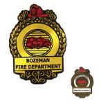 Clip-On Fire Badge