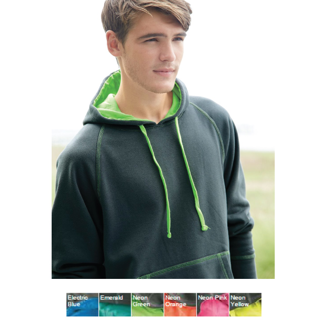 J America Shadow Fleece Hooded Pullover Sweatshirt