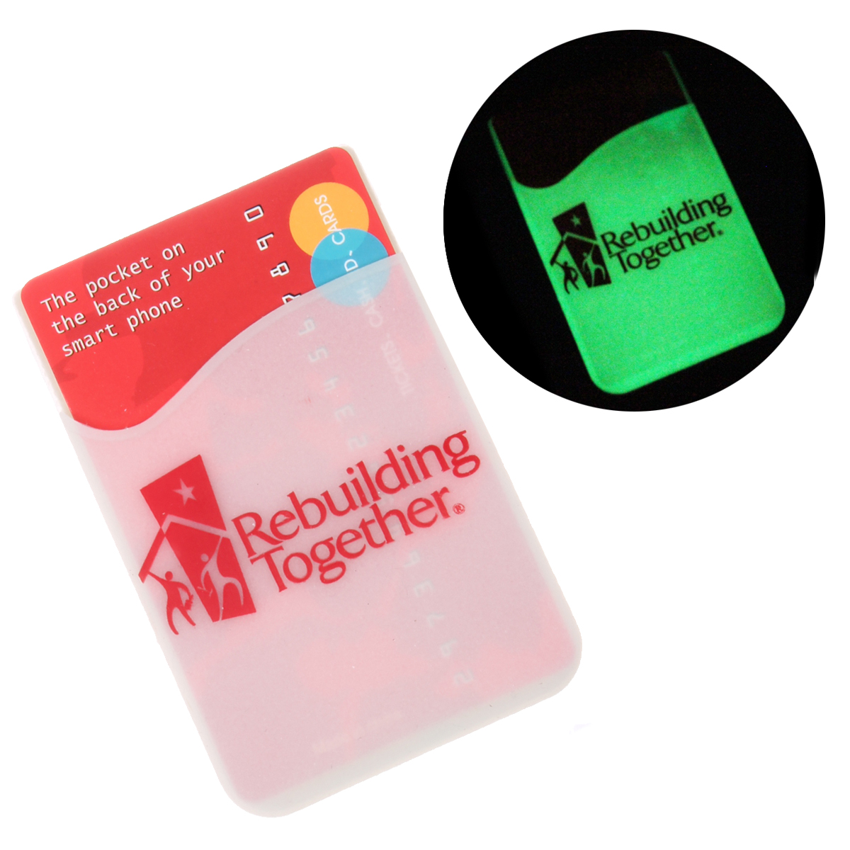 Glowing Cell Phone Wallet