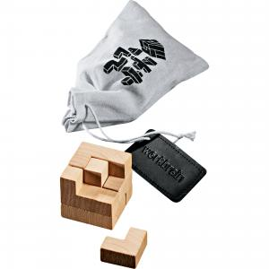 7 Piece 3D Mind Trap Puzzle in Cloth Sack