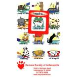 Cats and Dogs Frame of Mind Magnet