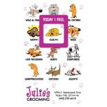 Dog Themed Frame of Mind Magnet