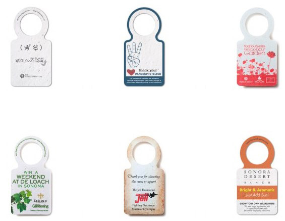 Value Seed Paper Wine Neck Tag