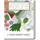 Adult Coloring Book Nature