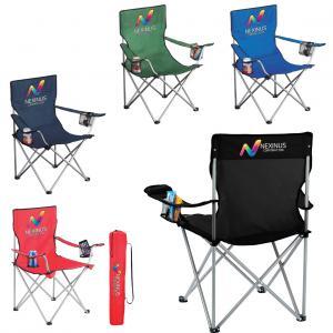 Game Time Event Chair with Two Cup Holders