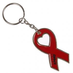 Red Ribbon Key Chain