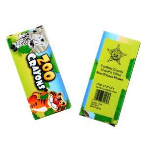 4 Pack Animal Crayons