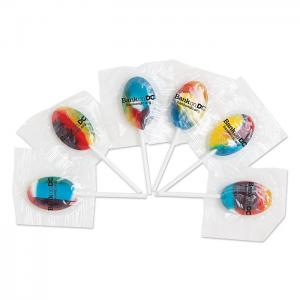 Rainbow Candy Lollipops