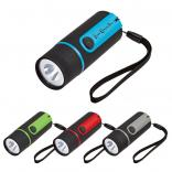 Two-Tone LED Flashlight With Wrist Strap
