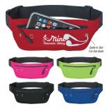 Runners Belt Style Fanny Pack With Ear Bud Slot