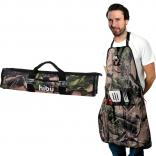 Stainless Steel Fork/Spatula 5 Pc. Camo BBQ Set