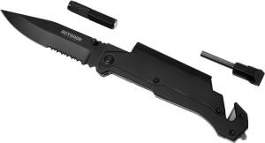 2 Stage Survival/Rescue Knife With Flashlight