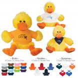 Plush Duck With T-Shirt